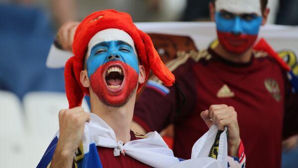 Fans russes - Sputnik France