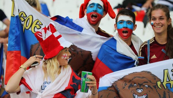 Les fans de football russes - Sputnik France