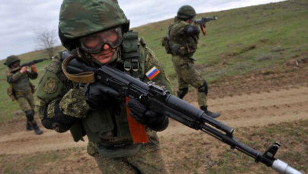 Transnistrie: des éclaireurs russes «saisissent des documents secrets» lors des exercices - Sputnik France