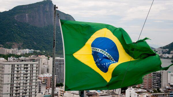 Le drapeau brésilien - Sputnik France