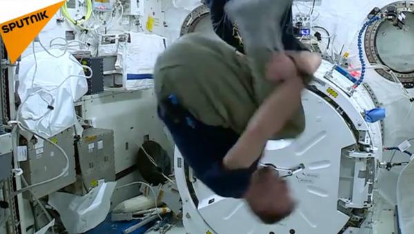 Une expérience vertigineuse à bord de la Station spatiale internationale - Sputnik France