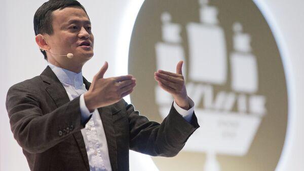 Le fondateur du géant chinois du commerce en ligne Alibaba, Jack Ma. - Sputnik France