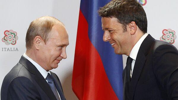 L'Italie souhaite contruire des ponts tant réels que méthaphoriques, d'après Matteo Renzi - Sputnik France