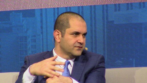 Shervin Pishevar, co-fondateur de Hyperloop One - Sputnik France