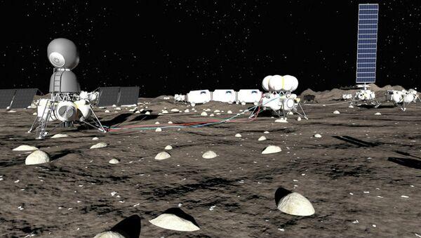 Le projet d'une base lunaire - Sputnik France