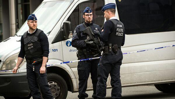 Police belge (image d'illustration) - Sputnik France