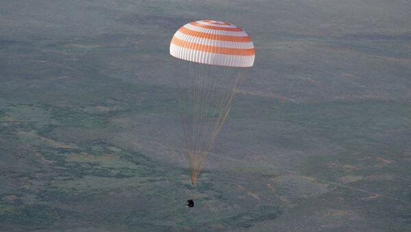 Une capsule Soyouz TMA atterrit au Kazakhstan - Sputnik France