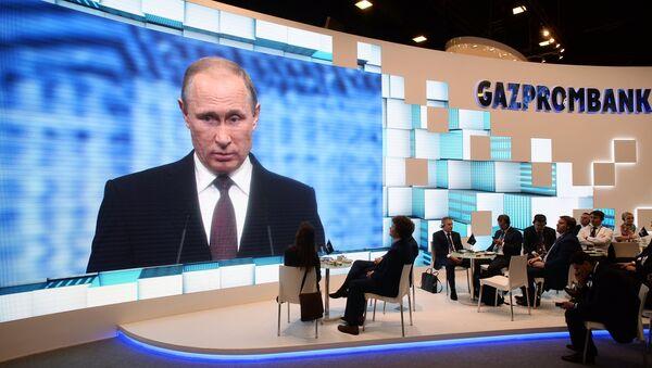 Poutine: l'économie russe est en croissance, malgré les pronostiques - Sputnik France