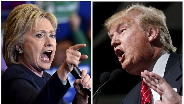 Trump et Clinton, deux candidats à risque pour les Américains - Sputnik France