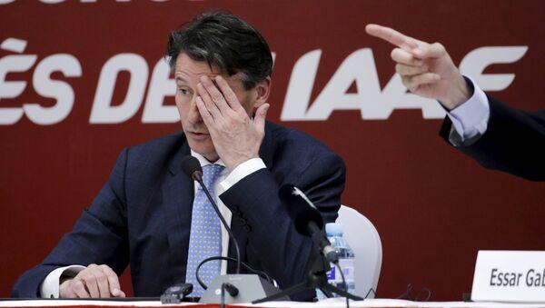 Sebastian Coe, président de l'IAAF - Sputnik France