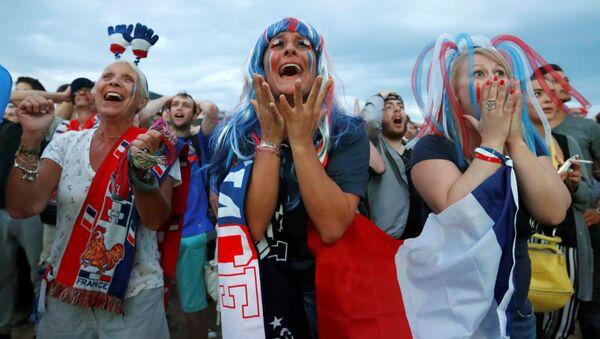 Des fans de l'équipe de France. Image d'illustration - Sputnik France