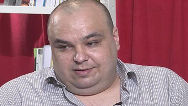 Le médecin anesthésiste-réanimateur Alexandre Tchernov, un médecin ukrainien avoue avoir tué des combattants du Donbass - Sputnik France