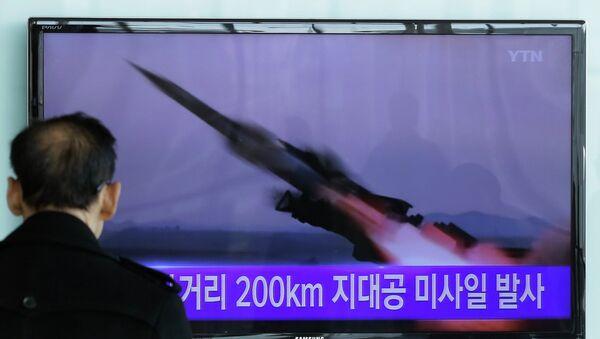 Tests d'un missile nord-coréen - Sputnik France
