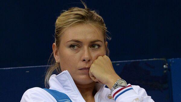 Maria Sharapova - Sputnik France
