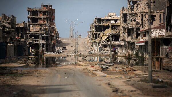 General view of buildings ravaged by fighting in Sirte, Libya (File) - Sputnik France