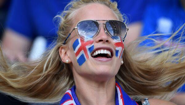 Supporteuse islandaise - Sputnik France