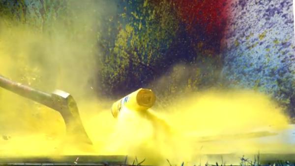 Une explosion de peinture aérosol - Sputnik France