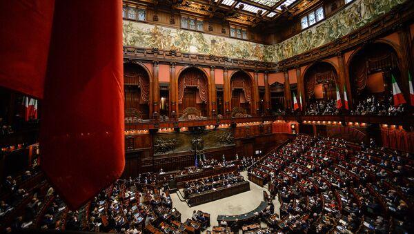 Заседание Палаты депутатов итальянского парламента в Риме - Sputnik France
