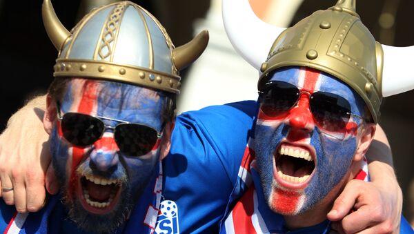 Fans islandais - Sputnik France