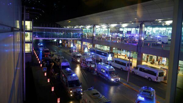 Attentats d'Istanbul, le 28 juin - Sputnik France