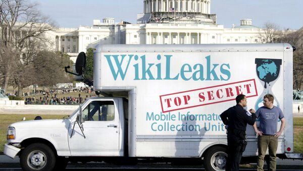 Le fourgon de Wikileaks - Sputnik France