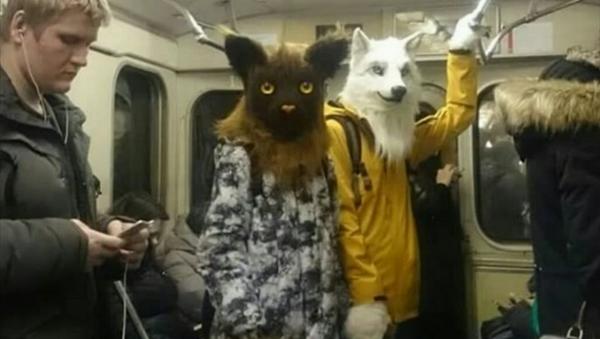N'ayez pas peur! Ce n'est que le métro moscovite... - Sputnik France