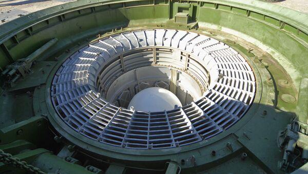 Missile Sarmat en silo - Sputnik France