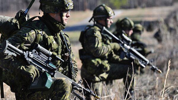 Militaires canadiens - Sputnik France