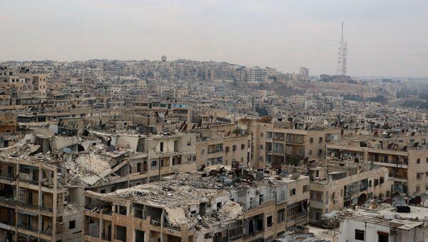 La ville syrienne d'Alep en ruines - Sputnik France
