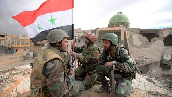 Des militaires syriens - Sputnik France