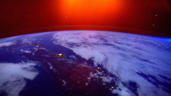Une photo de la Terre prise depuis l'ISS - Sputnik France