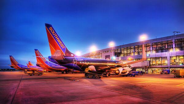 Boeings 737 de la ligne aérienne Southwest à Austin Texas - Sputnik France