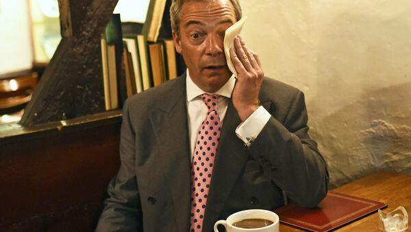 Mission accomplie: Mister Brexit s'en lave les mains - Sputnik France