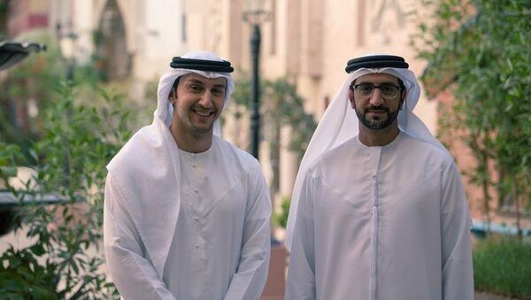 Hommes saoudiens dans les vêtements traditionnels. Image d'illustration - Sputnik France