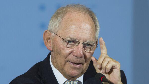 Le ministre allemand des Finances Wolfgang Schäuble - Sputnik France