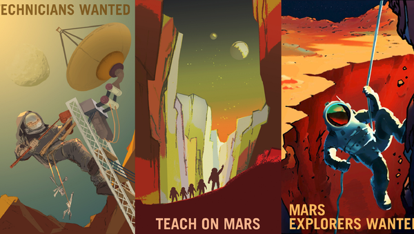 Partir en voyage pour Mars, et mourir… - Sputnik France
