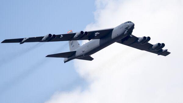 Un bombardier B-52 américain (archive photo) - Sputnik France