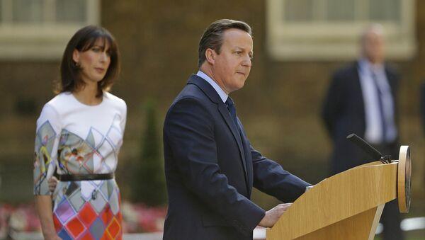 Le premier ministre britannique Cameron - Sputnik France
