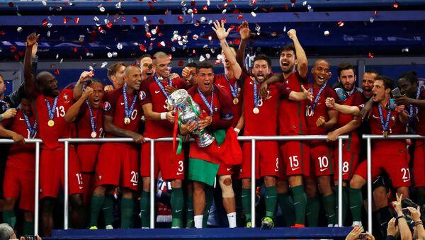 les Portugais ont remporté la Finale de l'Euro 2016 - Sputnik France