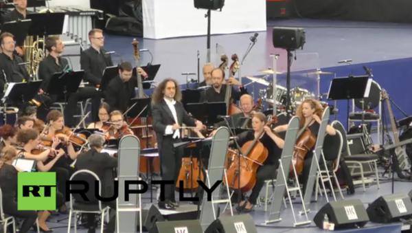 Le plus grand orchestre symphonique a donné un concert en Allemagne - Sputnik France