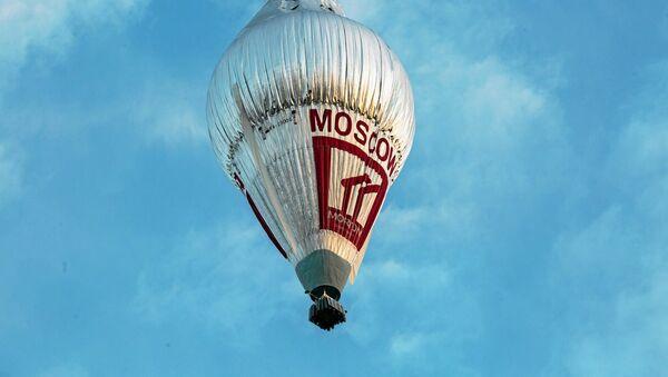 Le ballon du voyageur russe Fiodor Konioukhov décolle de l'aérodrome de Northam - Sputnik France