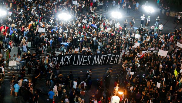 Black Lives Matter: manifestation contre les violences policières à New York - Sputnik France