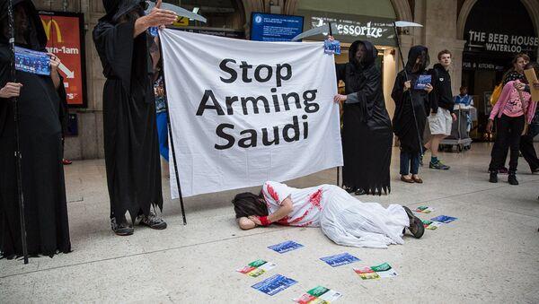 Proteste contre la vente des armes aux saoudiens - Sputnik France
