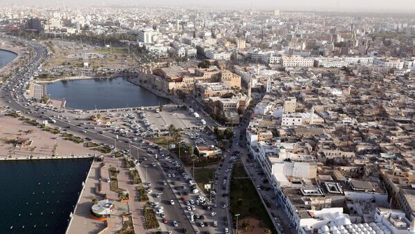 An aerial shot taken from a helicopter shows the Libyan capital Tripoli. (File) - Sputnik France