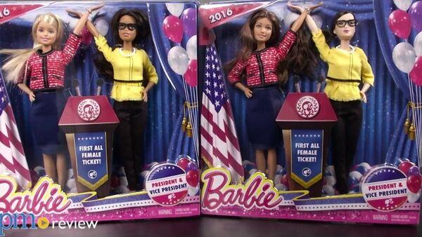 Nouvelles poupées Barbie: présidente et vice-présidente - Sputnik France