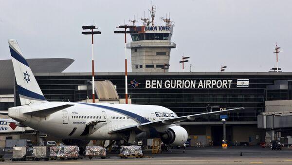 L'aéroport Ben Gurion de Tel Aviv (photo d'archive) - Sputnik France