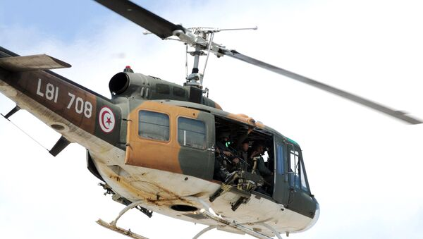 L'hélicoptère,Tunis - Sputnik France