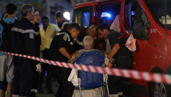 Une ambulance à Nice - Sputnik France