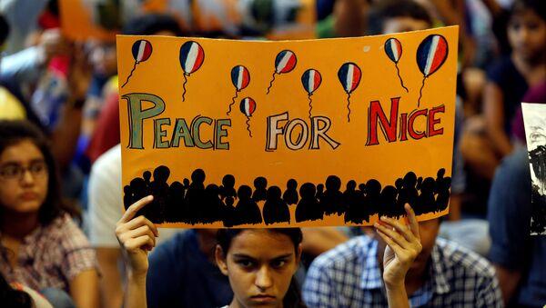 Peace for Nice - Sputnik France