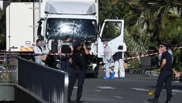 le camion à Nice - Sputnik France